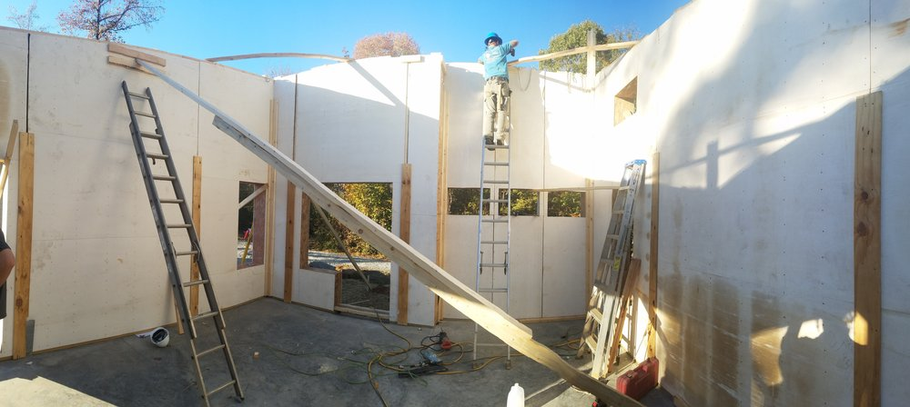 Hempcrete Panel Home - Asheville, NC