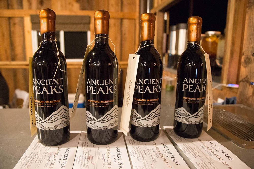 Oyster Ridge Hosts Cal Poly wine blending event