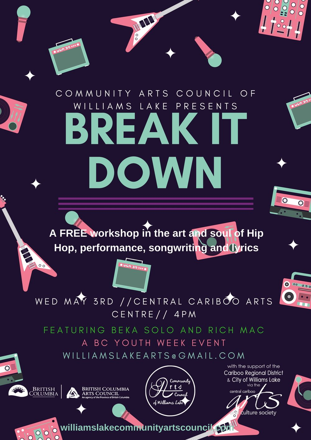 Break It Down Poster