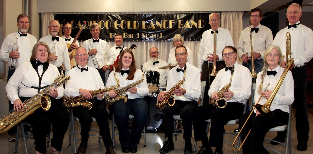 The Cariboo Gold Dance Band plays the final set on Thursday June 22nd at Boitanio Park