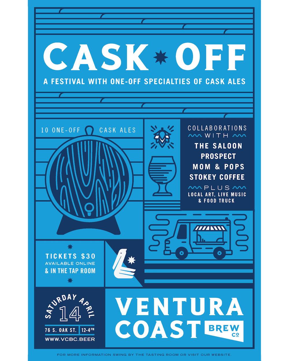 Ventura Brewery Cask Off!!