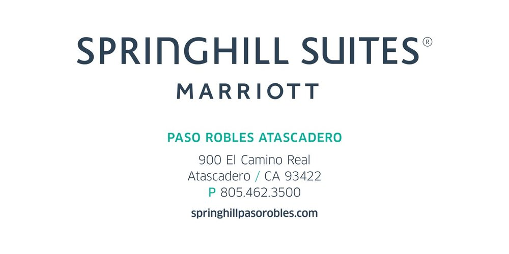 SPRINGHILL SUITES MARRIOTT - Discounted room $199.00 a nightFree High Speed InternetFree breakfastFitness CenterComplimentary on-site parkingShuttle Service to Beer Festivalhttps://www.marriott.com/meeting-event-hotels/group-corporate-travel/groupCorp.mi?resLinkData=Central%20Coast%20Beerfest%5Esbpsh%60CCBCCBA%7CCCBCCBB%60199.00%60USD%60false%601%603/29/19%603/31/19%603/14/19&app=resvlink&stop_mobi=yes