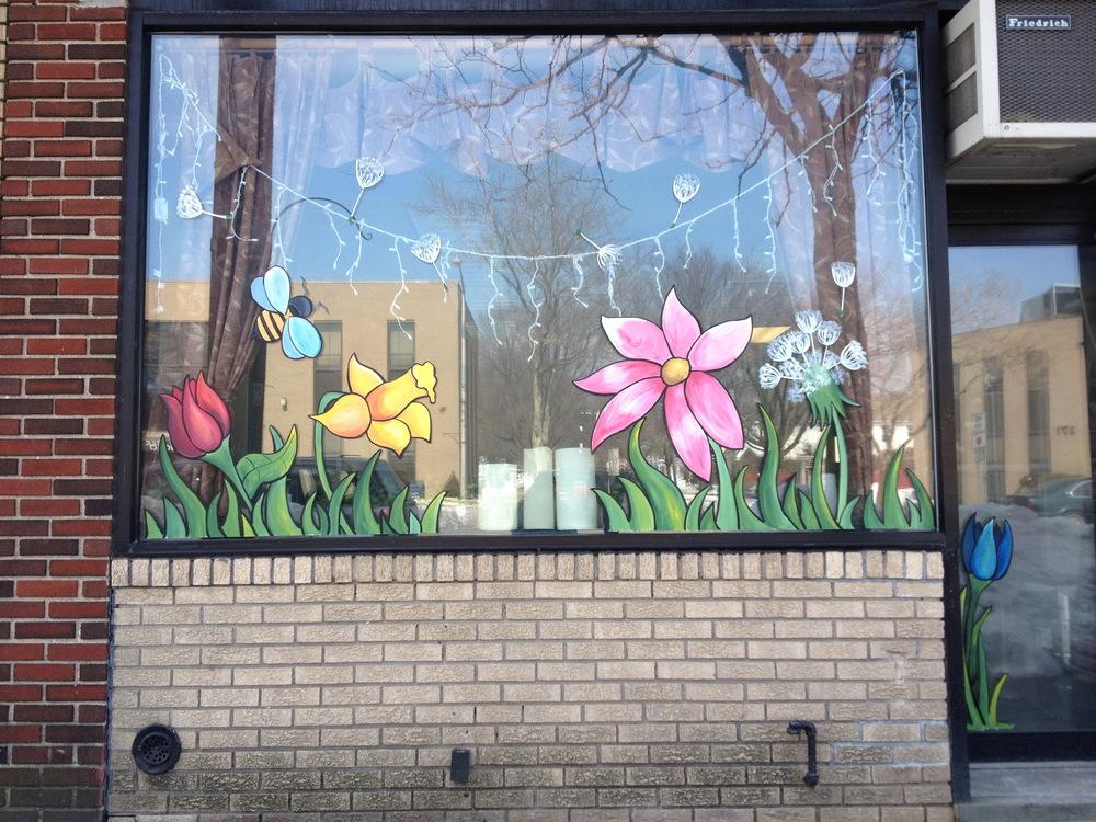 Seasonal Storefront Window Art By >> Seasonal Mw Designs