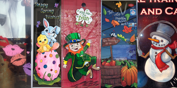 Seasonal Storefront Window Art By >> 2015 Window Painting Package Mw Designs