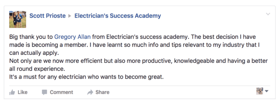 electrician-success-review