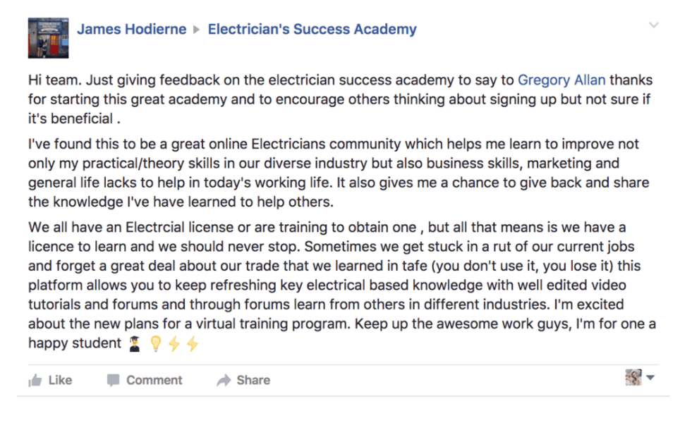 electricians-success-academy-membership