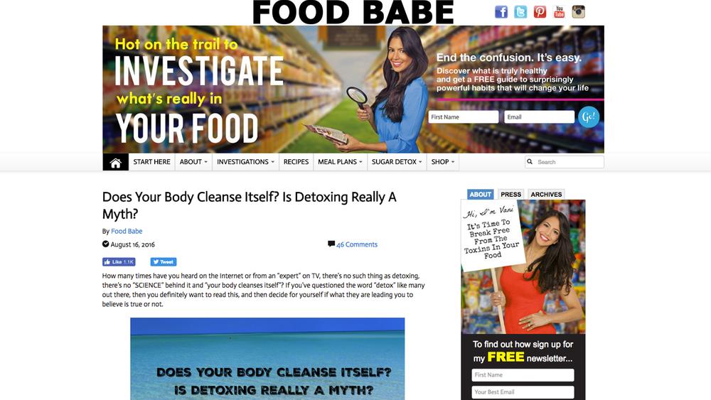 foodbabe.com