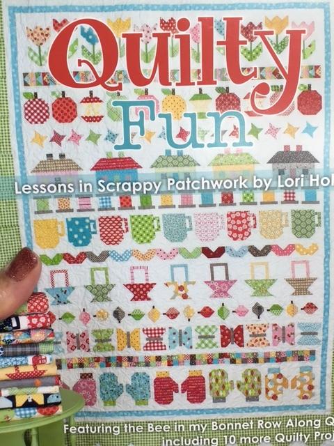 Quilty Fun spiral bound row quilt book — Quilt Republic : quilt book - Adamdwight.com