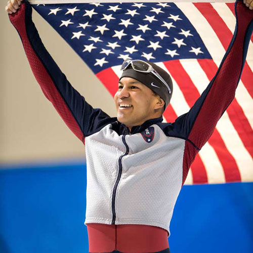 Derek Parra Team Empower Hour Utah Olympian