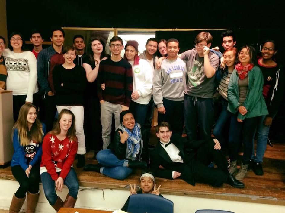 San Leandro High School Drama Program Students