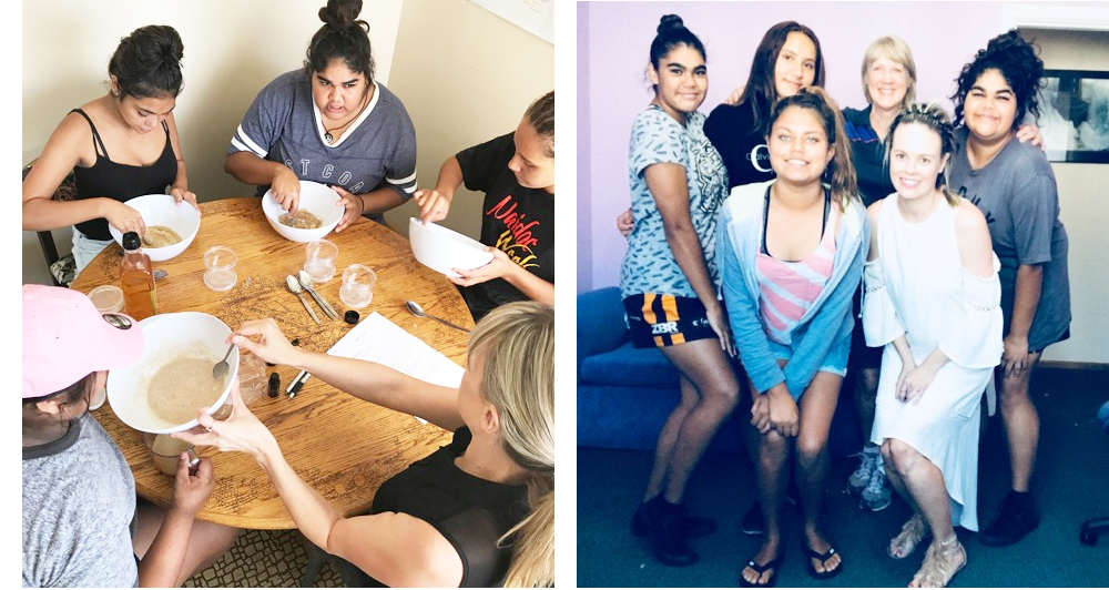 Body Image and Confidence - Amy Erbacher attended the Cowra PCYC once a week for four weeks for self-esteem sessions which included body image, self confidence and hands on making body scrubs and lip balms with young Aboriginal girls who are from low-socio economic backgrounds.  Amy conducted the sessions with a friendly, easy to approach manner.  The girls quickly bonded with Amy which could be seen by them participating in scenarios which generally does not happen with these girls.  Amy was professional and held the girls attention at all times.  Janine Robinson | Senior Constable | Youth Case Manager