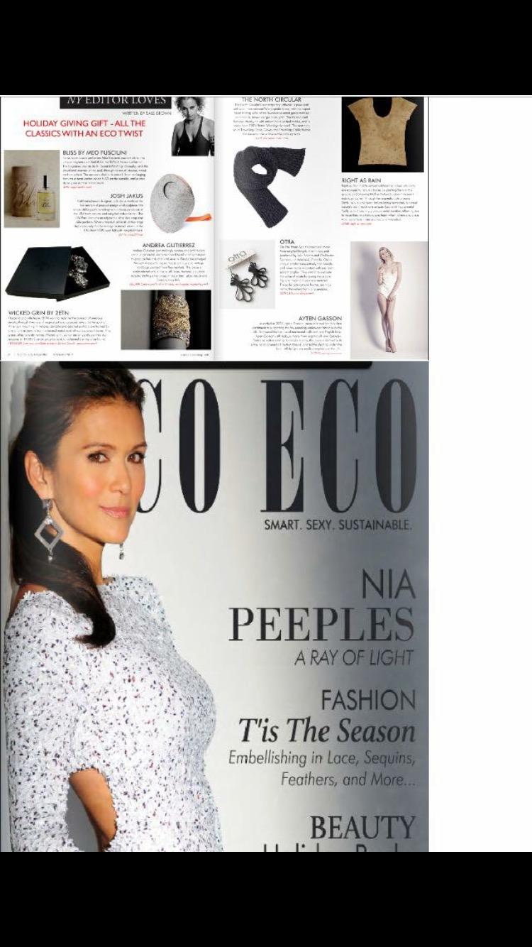 Print: Print House Hove, Publication: Coco Eco Magaine