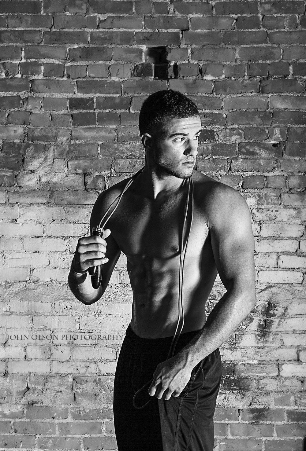 John Olson Photography  Illinois Fitness and Sport Magazine  Model Adrian Hulaj