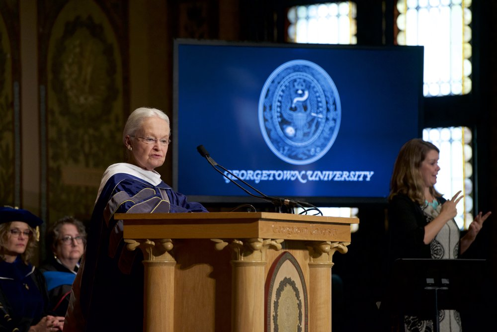 Photo courtesy of Rafael Suanes / Georgetown University