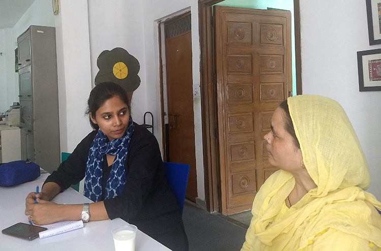 Poonam Muttreja, executive director of the Population Foundation of India (PFI), worked with Singhal on PD research to enhance a media intervention that reached an estimated 400 million people.  Photo courtesy of Poonam Muttreja