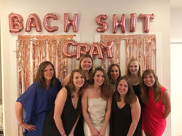Feeling pretty damn lucky to have spent two amazing weekends with my people, celebrating two of my favorite bachelorettes. Thanks for giving us an excuse to party @cashack and @sdoctrow. #foreverferrill #stephtakesthesilver #whatsthehashtag