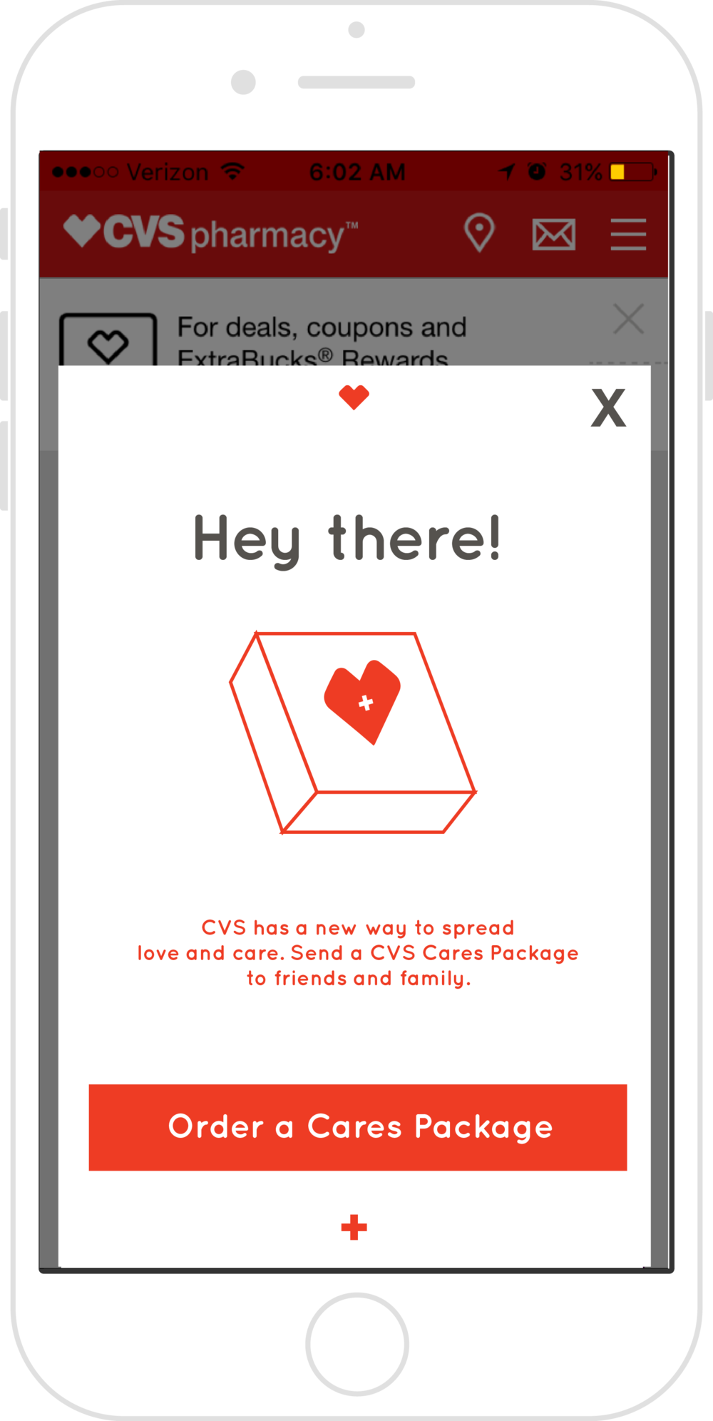 CVS CARES PACKAGE — Reagan Fromm