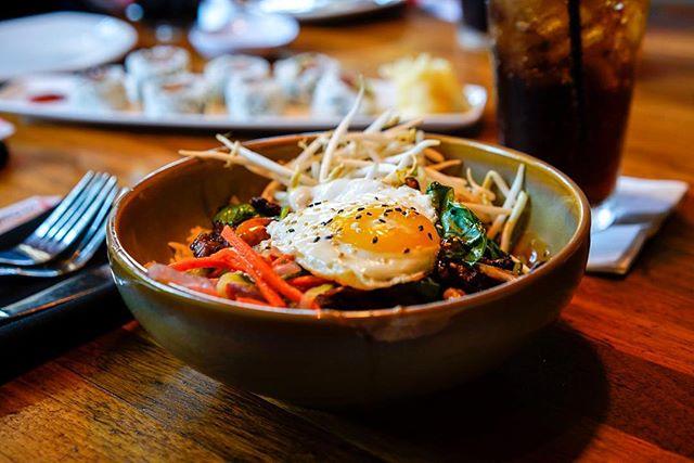 """Korean"" Inspired meal, I sure miss Korean food, I'll be back soon. 🤩"