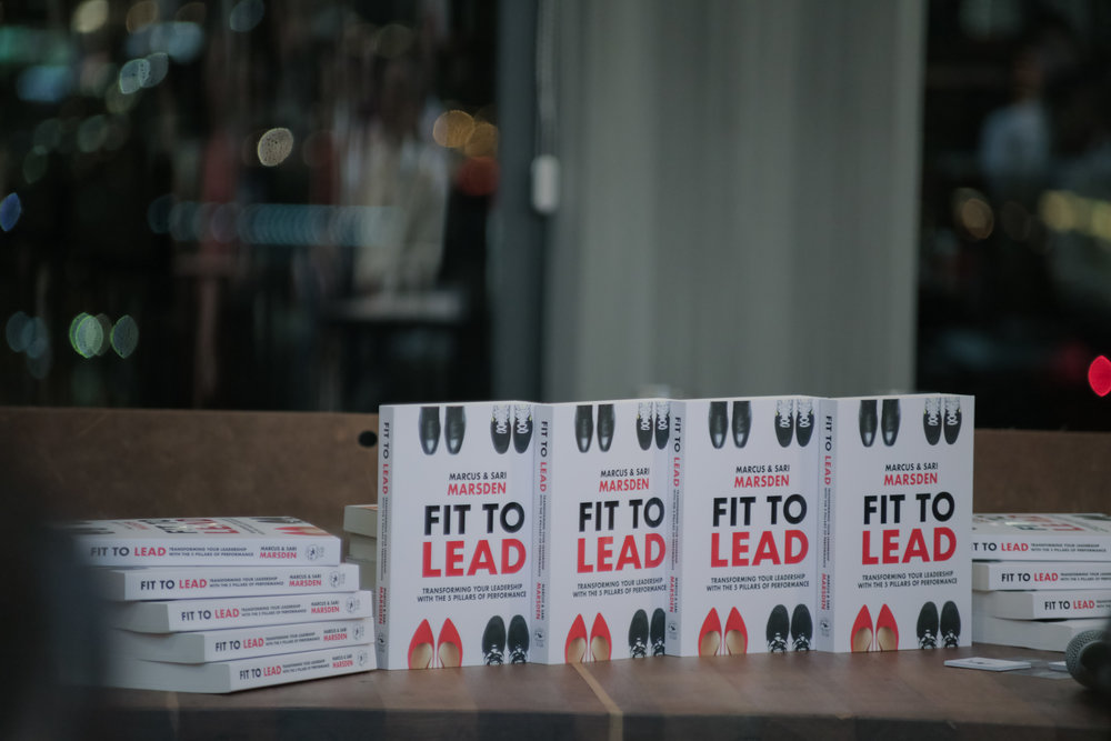 FIT TO LEAD is a different kind of leadership book. A book that combines executive coaching, physical movement and nutrition to transform your leadership. #FitToLeadSariusly! Available now via Amazon, Kinokuniya and Times bookstores in Singapore as well as at https://fittoleadbook.com/order/