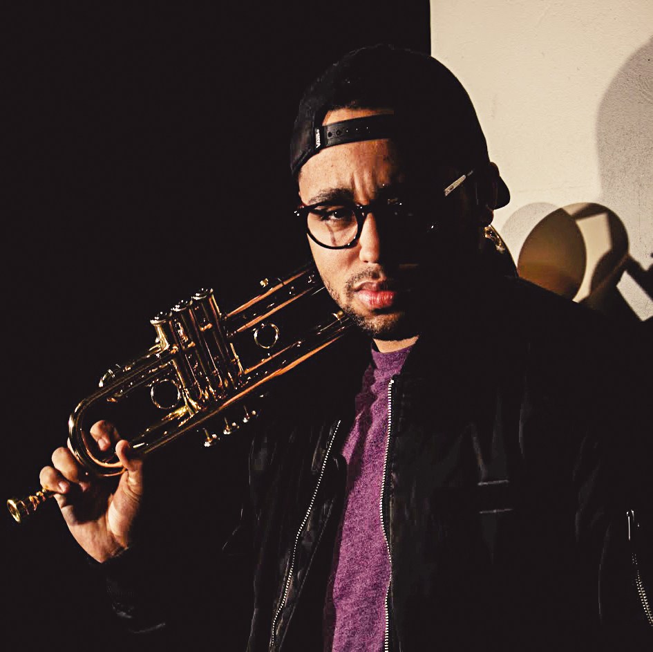NATHAN HAIRSTON- LEAD TRUMPET, VOCALS - Nathan Hairston is a freelance Trumpeter, Composer, Singer, and self described