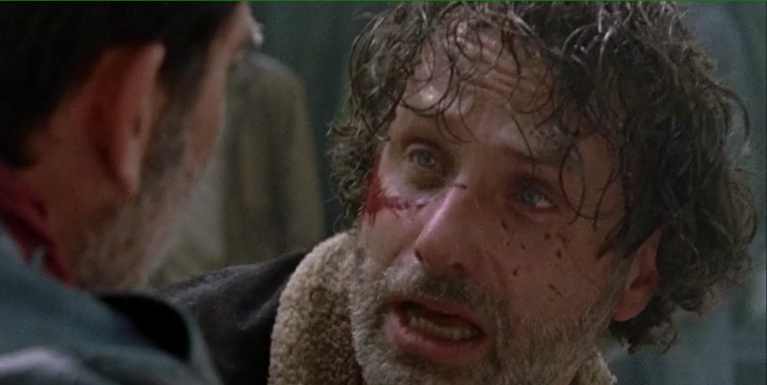 The Walking Dead 7 1 The Day Will Come When You Won't Be Review