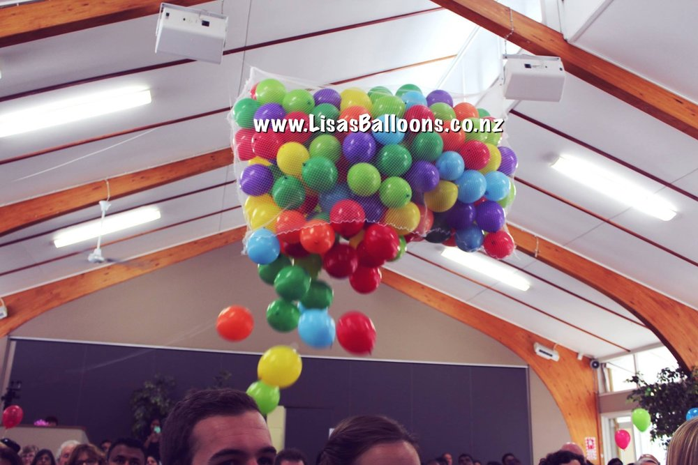 Balloon Drop - Contact Us
