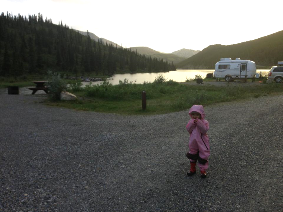Summit Lake Campground in Stone Mountain Provincial Park