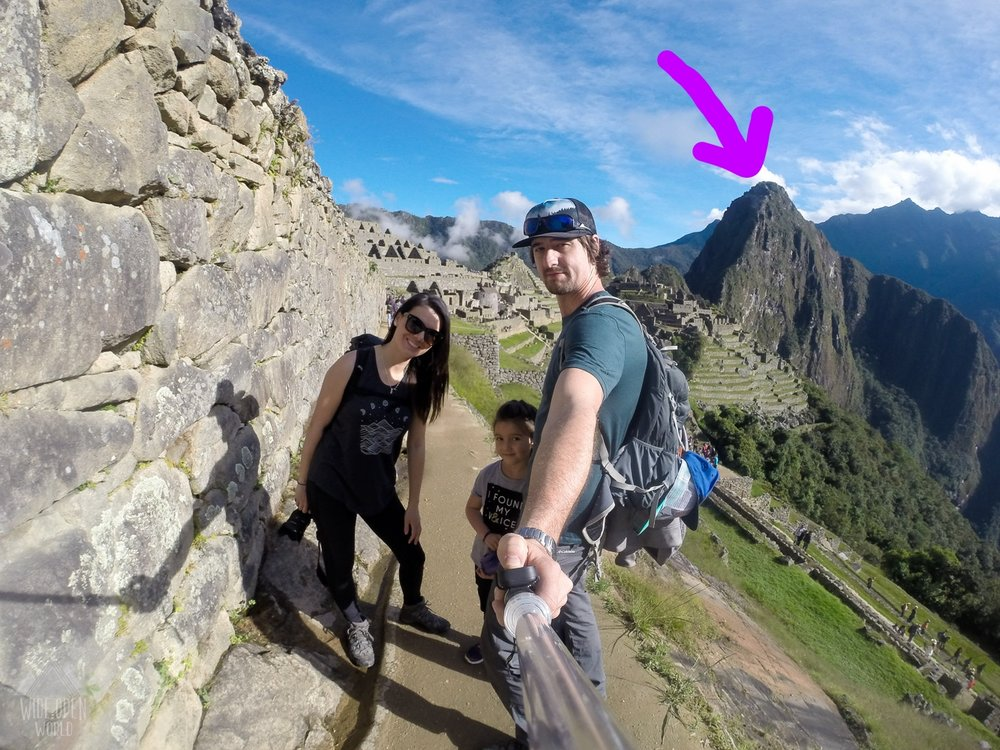 For the record, - That peak in the back is Waynapicchu otherwise known as Huayna Picchu.