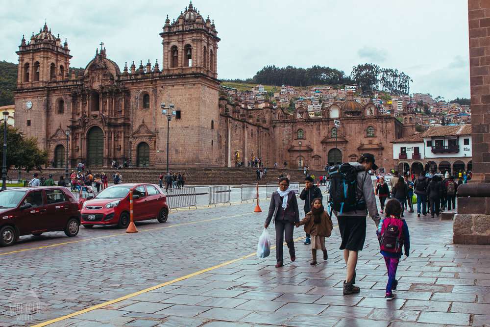 Walking in Cusco