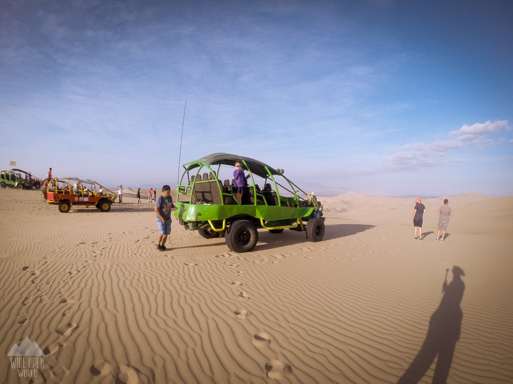 Our Dunebuggy in Huacachina