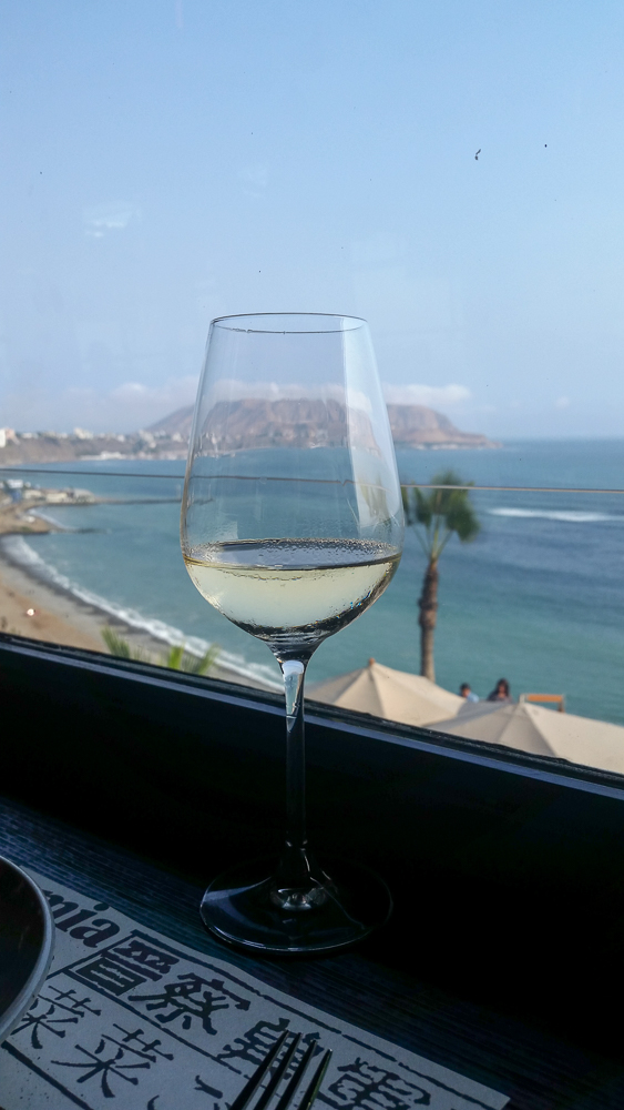 Wine in Miraflores