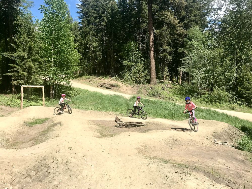 Pump Track at Staging