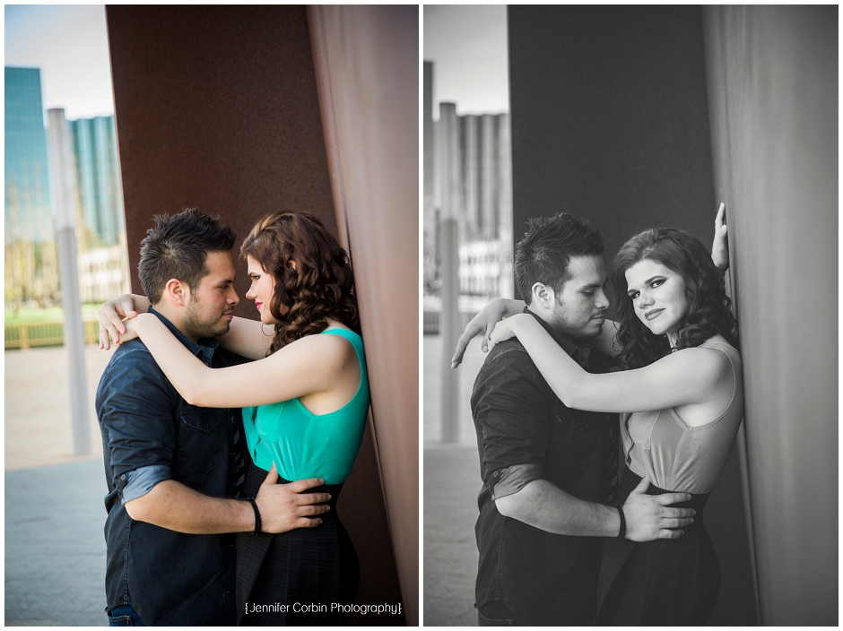 Avenue of the Arts Engagement Session (4)