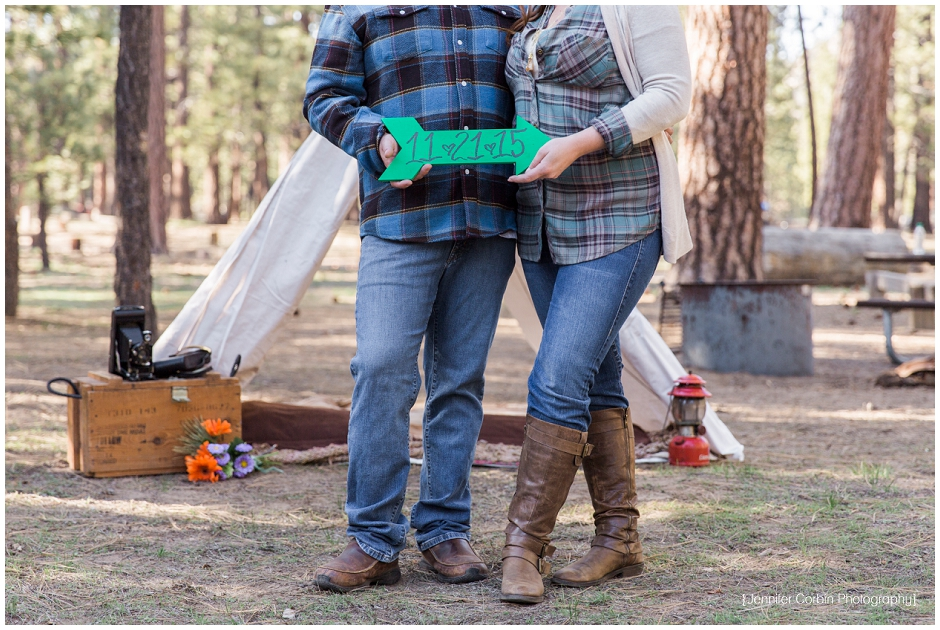 Big Bear Camping Engagement Session (1)