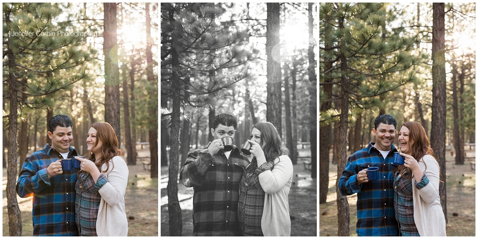Big Bear Camping Engagement Session (10)