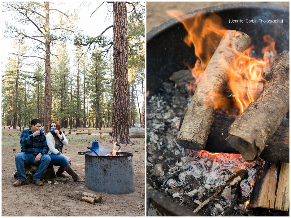 Big Bear Camping Engagement Session (11)