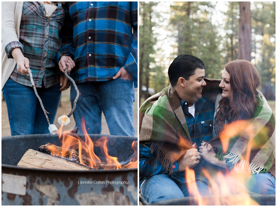 Big Bear Camping Engagement Session (12)
