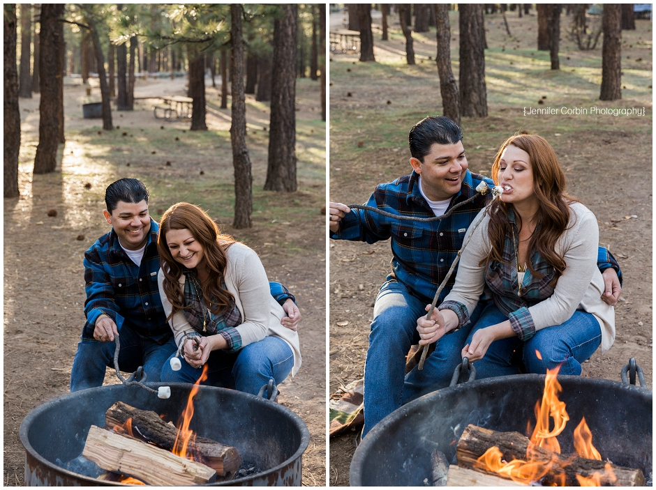 Big Bear Camping Engagement Session (13)