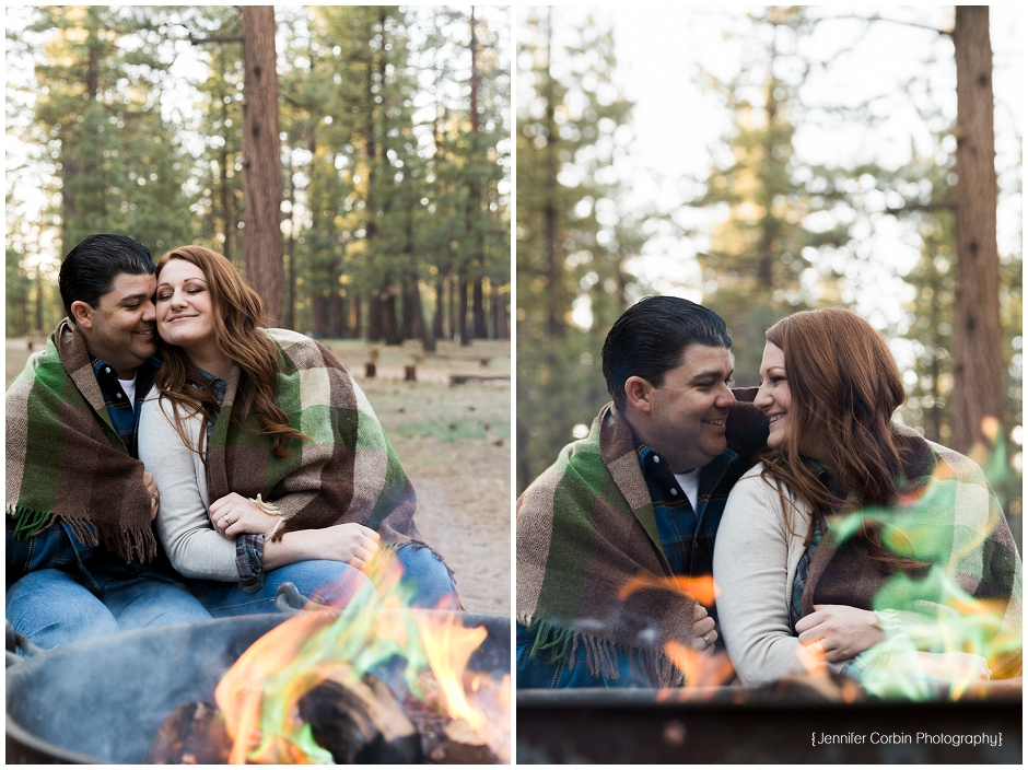 Big Bear Camping Engagement Session (14)