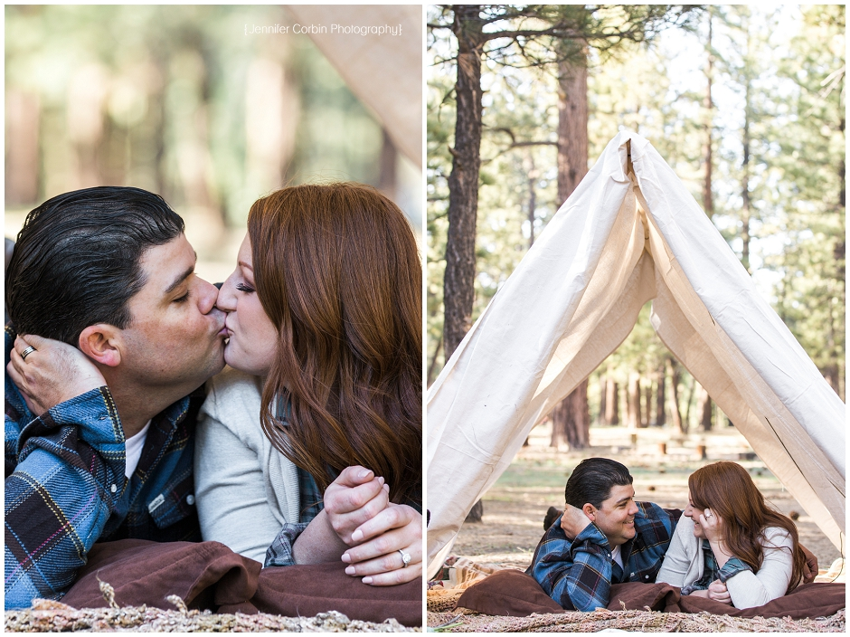 Big Bear Camping Engagement Session (4)