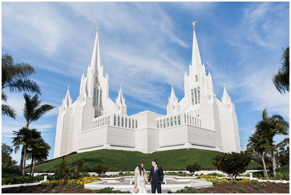 San Diego LDS Temple Wedding (12)