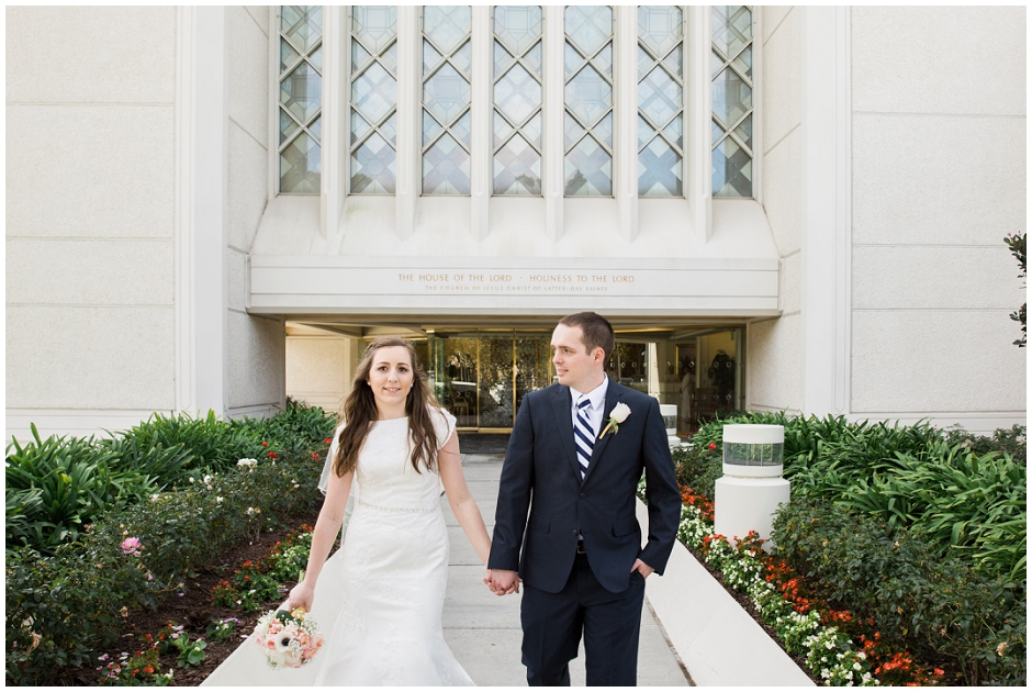 San Diego LDS Temple Wedding (14)