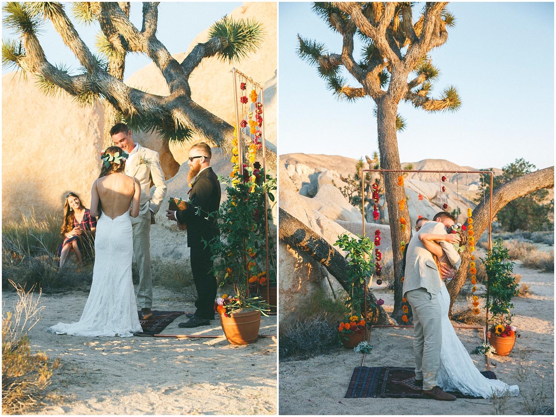 Carly Zak Joshua Tree Wedding Jenn Pawel Photography