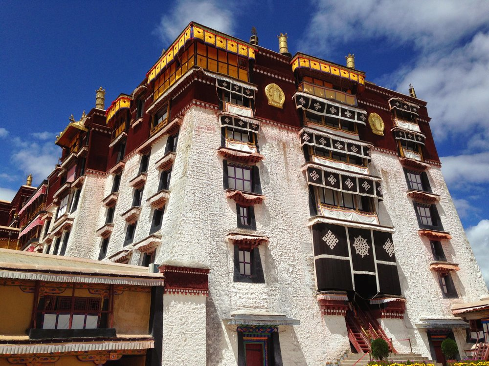 Did you know there are 432 steps up to the Potala Palace?