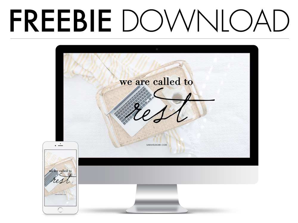 "FREE DOWNLOADS | Called to Rest? ""Come to me, all who are weary, and I will give you rest."" Matthew 11:28 