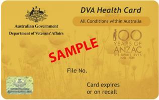 DVA Card