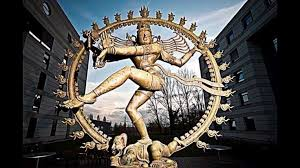 Statue of the Indian goddess Shiva located at CERN headquarters
