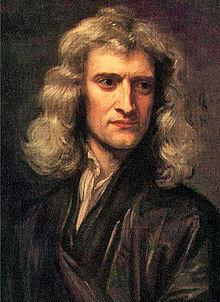 Portrait of Newton in 1689 by Godfrey Kneller