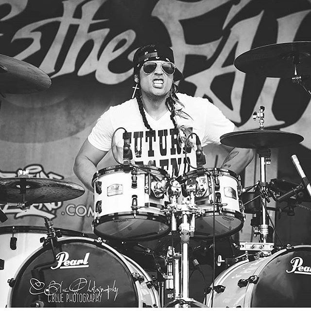 Rocklahoma is finally here!!! We are on at 8:20 on the HardRock stage!!! Let's party!! #escapethefate #rocklahoma Photo by: @cbluephotographyofficial
