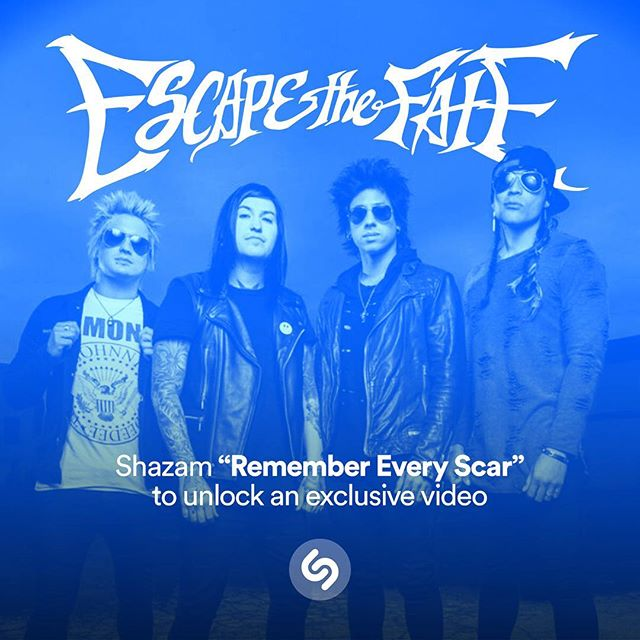 All you Shazam users out there - Shazam Remember Every Scar to unlock a special video from the band!